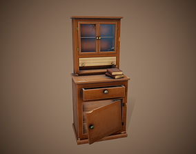 Stylized Furniture - Tutorial Included 3D asset