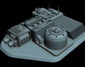 3D model Starship Detail 6
