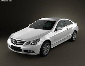 3D Mercedes-Benz E-Class coupe 2011