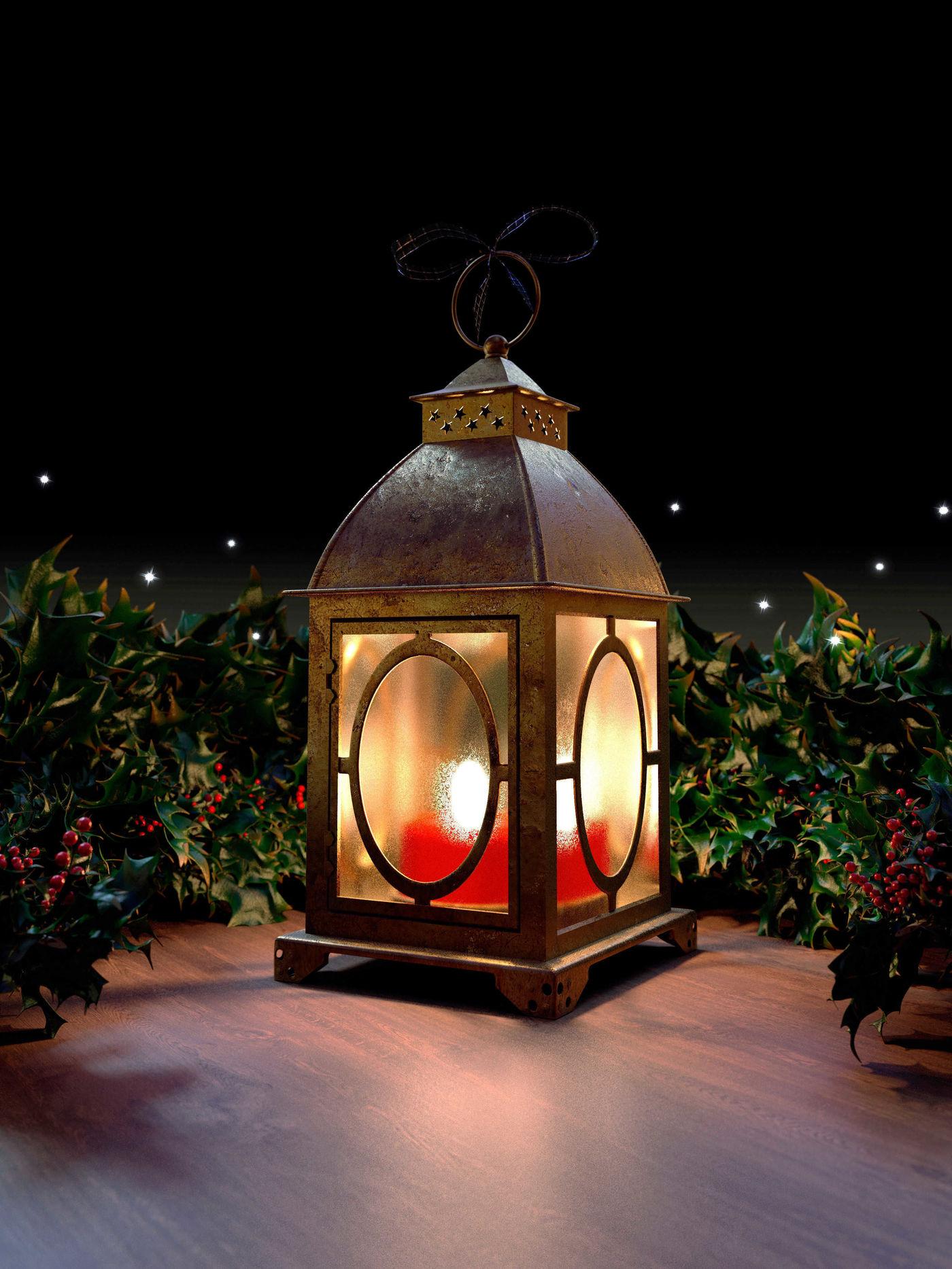 Victorian Christmas Lantern