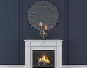 fireplace Dimplex 3D model