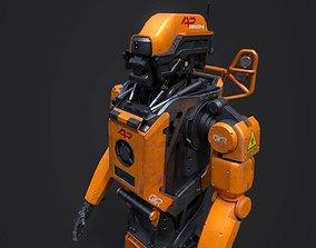 3D model Elysium Droid gold skin