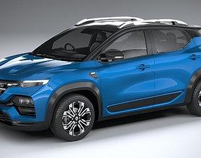 Renault Kiger 2022 3D model