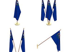 Nevada Flag Pack 3D