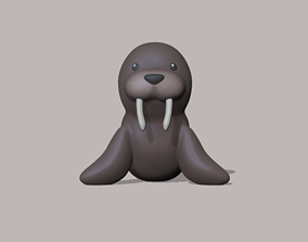 A cute Walrus to decorate and play 3D printable model