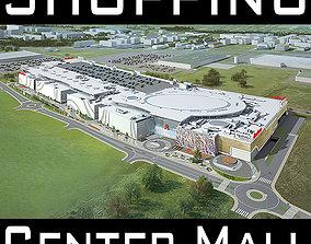 3D model Mall Shopping Center Retail Store