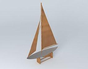 GIBRALTAR Boat houses the world 3D model