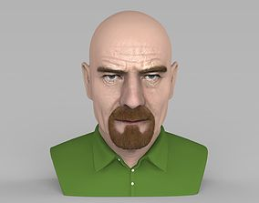 Walter White Breaking Bad bust ready for full color 3D