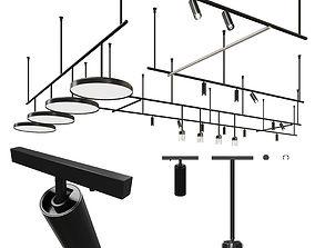 3D Flos Infra Structure - lighting system