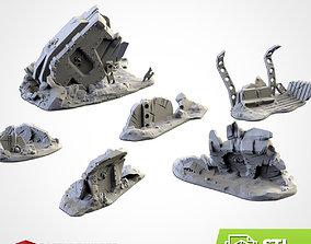 3D print model CRASHED VEHICLES