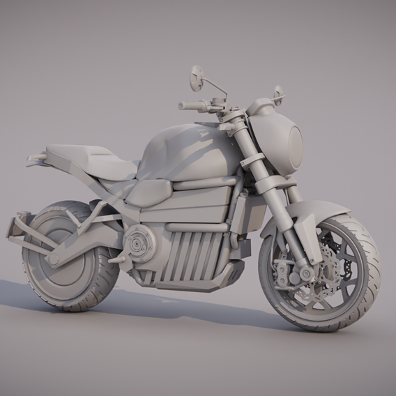 My electric motorcycle project