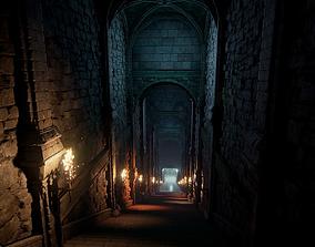 Fantasy Dungeon UE4 3D model