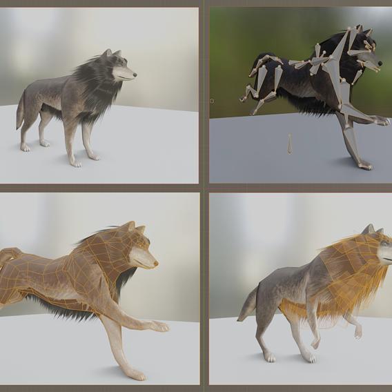 Wolf update for Blender 2.9