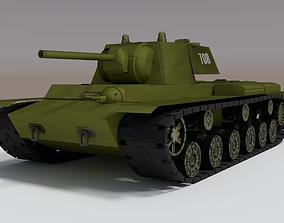 army 3d model tank