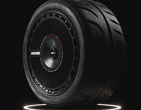 3D Toyo Proxes r888R Tire Real World Details