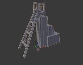 3D print model Coal Mine shaft miniature