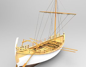 Ancient Egyptian Boat 3D model