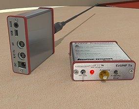 3D model Transmitter