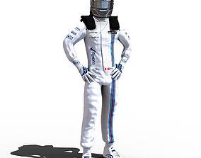 Lance Stroll 2017 3D model
