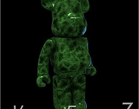 3D model Green Jade BearBrick