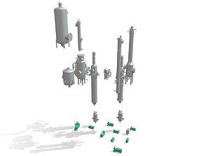 Process Plant UAE - Equipment 3D printable model