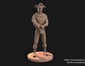 3D print model Jester