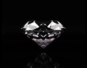 3D model animated Diamond