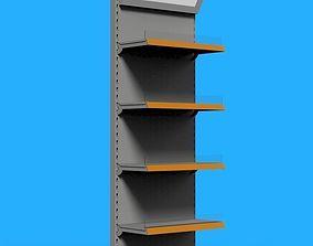 3D Shelving system HIGH WALL UNIT 665 mm