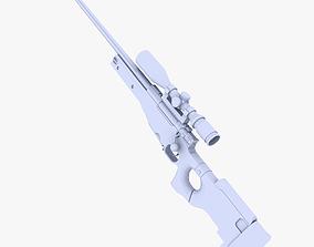 L96AW Sniper Rifle 3D asset