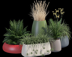 Gobi outdoor planter 3D model