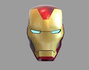 3D print model Iron Man Mark 85 Wearable Helmet Endgame 1