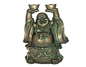 bodhisattva Maitreya 3D print model 3D model low-poly