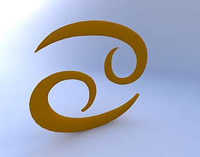3D model Astrological Sign, Cancer