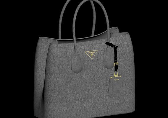 Prada Saffiano Bag -50k polygon