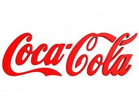 Coca Cola 3d Logo