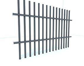 Prison bars 3D model