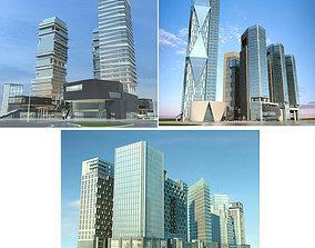 Cityscape 1-3 3D model