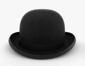 accessories 3D Bowler Hat