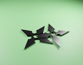 shuriken-3D model