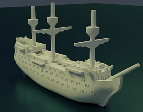3D printable model HMS Victory