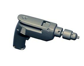 Drill tool 3D model