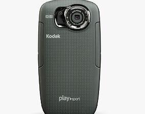 Kodak PlaySport ZX5 Black 3D asset