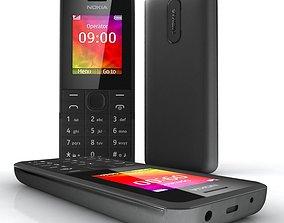 3D model 106 Nokia black