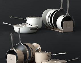 3D model Kitchen set Caraway