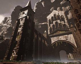 3D asset Sharurs Lost Monastery Ruins Unreal Engine