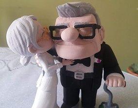 Carl and Ellie 3D print model