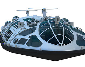 Water Bus Himiko 3D model