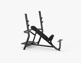3D Technogym Element Inclined Weight Bench