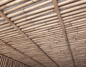 3D model Bamboo ceiling