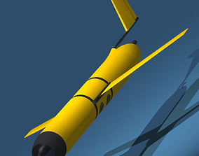 3D model Sonar Submarine